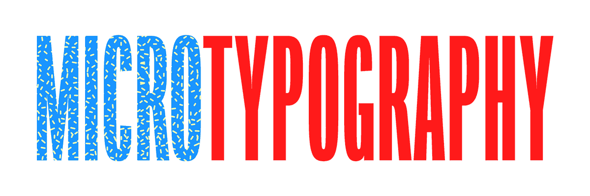 Micro Typography with Tânia Raposo